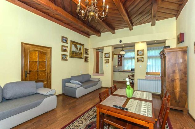 Apartament Willa I Na Lipkach, salon